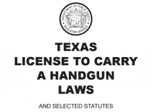 Texas LTC Handgun Laws